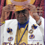 """Bro. Albert """"Smitty"""" Smith on the cover of The Oracle"""