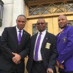 Beta Lambda Lambda Chapter brothers at the Capitol
